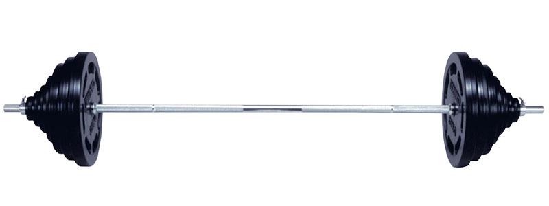 【Φ28mm高品質】IVANKO(イヴァンコ)ラバープレートバーベルセット 50kgセット[SRUB-50]