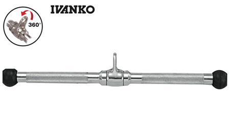 【アームカール、プレスダウンなど】IVANKO(イヴァンコ)ストレートバー[RSB-18]ロウイング・プルダウンなどにも
