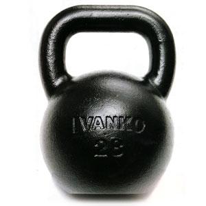 【ケトルベルの決定版】KETTLE BELL IVANKO(イヴァンコ)ケトルベル 32kg/1個
