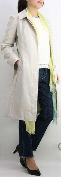 【50%OFF】【SALE】【ルイシャンタン】【Lui Chantant】【ワールド ルイシャンタン】【あす楽】【ギフト対応】 軽量 グログランテキスタイル春コート レディース ファッション コート