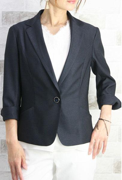 【50%OFF】【SALE】【ルイシャンタン】【Lui Chantant】【ワールド ルイシャンタン】【あす楽】【ギフト対応】 リネン風テーラージャケット セットアップ スーツ レディース ファッション ジャケット