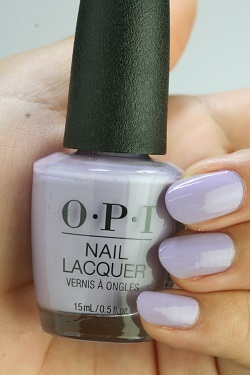 OPI (Opie eye) NL-P34 Don't Toot My Flute(Creme) (ドントトゥートマイフルート) opi  manicure nail color Ney reportage Risch self-nail fast-dry purple lilac