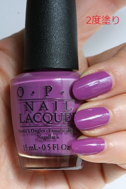 OPI (Opie eye) NL N54 I Manicure For Beads (eye manicure four beads) opi  manicure nail color Ney reportage Risch self-nail fast-dry purple purple  sexy