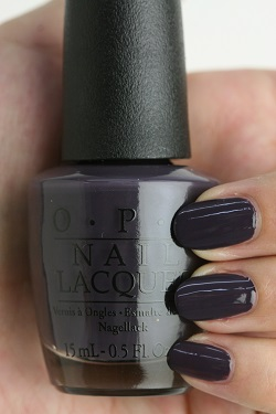 OPI (Opie eye) NL-I56 Suzi&the Arctic Fox(Creme) (Susie & ジアークティックフォックス)  opi manicure nail color Ney reportage Risch self-nail fast-dry gray purple