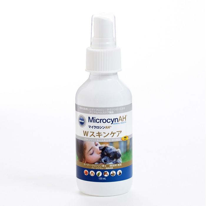 引出物 皮膚環境のケアおよび毎日のケアに MicrocynAH 全身 皮膚 傷口 涙やけ 洗浄 消毒 真菌 殺菌 マイクロシンAH 小動物など 着後レビューで特典 保湿 猫 Wスキンケア 犬 ペット用 120ml 鳥 直営ストア