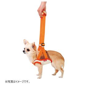 ペティオ zuttone 老犬介護用 歩行補助ハーネス 前足用 S(4kgまでの超小型犬用) 【ペット用介護用品】