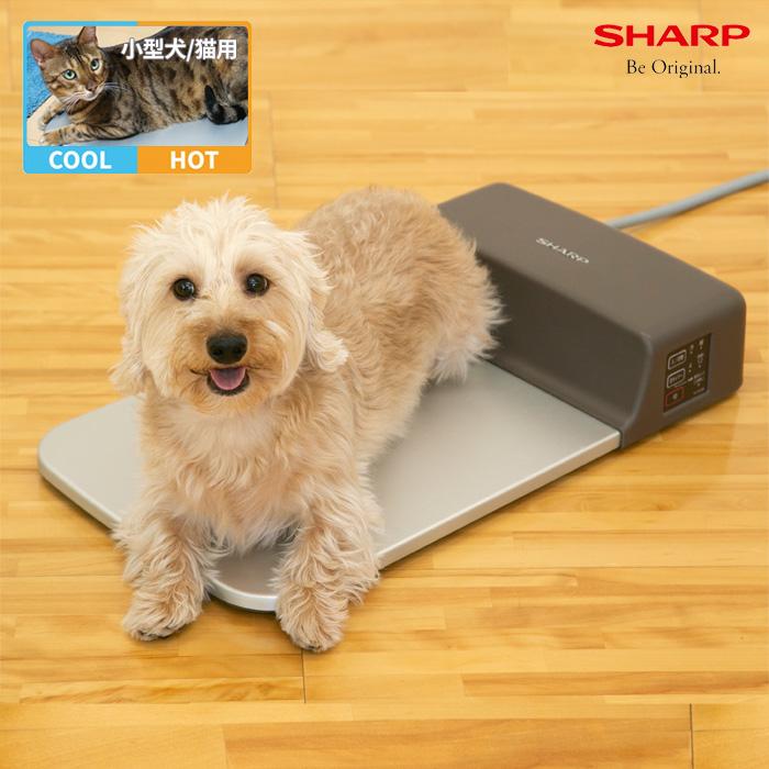 【送料無料】シャープ ペット用冷暖プレート(屋内専用) 小型犬用 猫用 PL-PT40D-T ブラウン系
