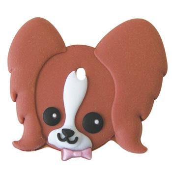 【取寄品】ワールド商事 ペットキーカバー 犬 パピヨン【雑貨】【ネコポス可】※発送までに4日以上お時間を頂く事があります。