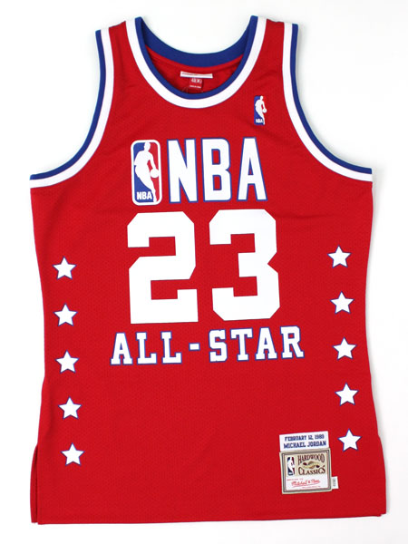 【送料無料】MITCHELL & NESS AUTHENTIC TT-1989 JORDAN #23【7226-ASE-89MJOR-RED】