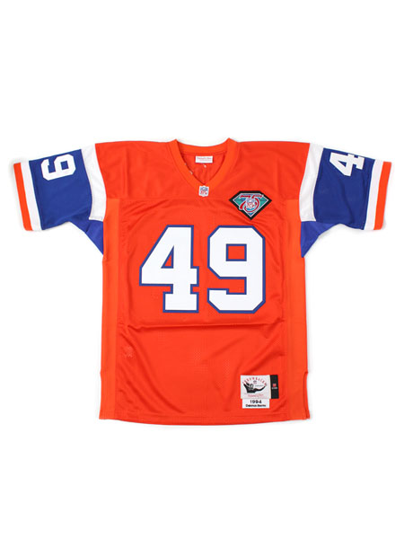 【送料無料】MITCHELL & NESS FB JERSEY-BRONCOS/1994DS#49【7220S2B4I94DENS-ORANGE】