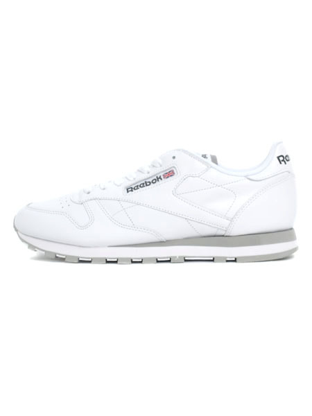 【送料無料】REEBOK CL LTHR WHITE/LT.GREY【2214-WHITE】