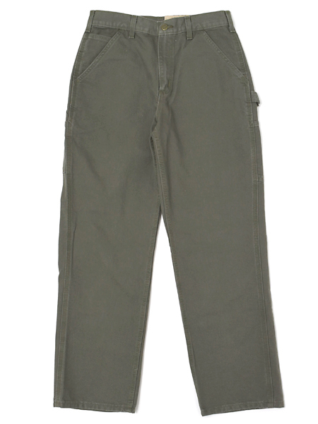 CARHARTT WASHED DUCK WORK DUNGAREE PANT-MOSS【B11-MOS-OLIVE】