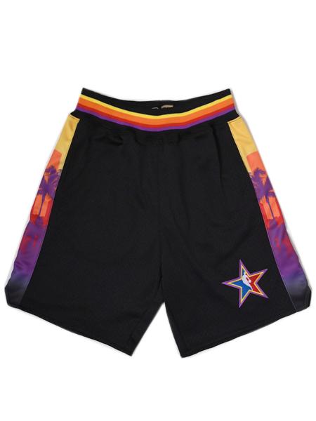 【送料無料】MITCHELL & NESS SWINGMAN SHORT ALL-STAR 2004 HARDWOOD CL【BA349ASGKBRE-BLACK】