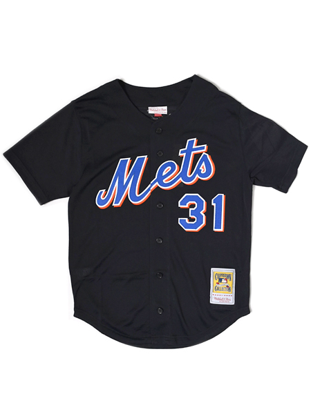 【送料無料】MITCHELL & NESS AUTHENTIC MESH BP-MIKE PIAZZA #20 METS【733941700MPIA2-BLACK】