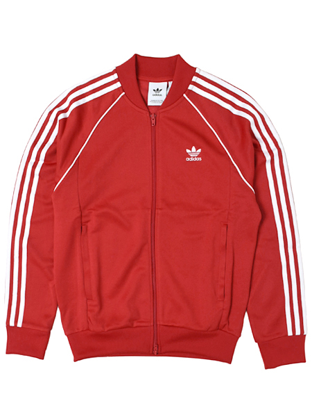 ADIDAS HERI SST TRACK TOP COLLEGE RED【EMX20-DH5824-RED】