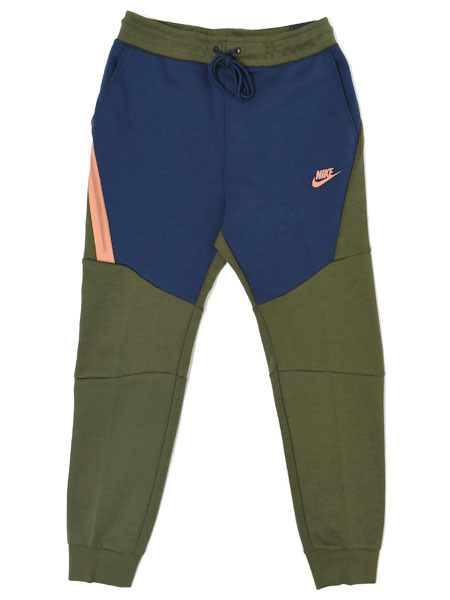 【送料無料】NIKE TECH FLEECE JOGGER PANT-OLV CANVAS/M.NNY【805163-395-OLIVE】