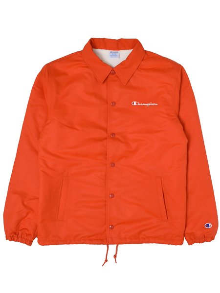【送料無料】CHAMPION ACTION STYLE COACH JACKET【C3-L610-840-ORANGE】