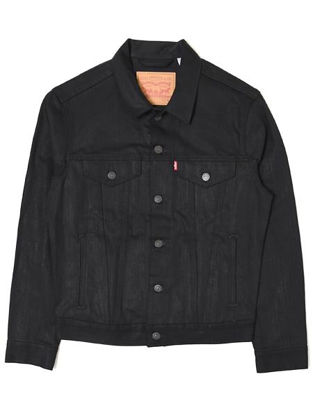 【送料無料】LEVI'S DENIM TRUCKER JACKET-POLISHED BLACK【72334-0157-BLACK】