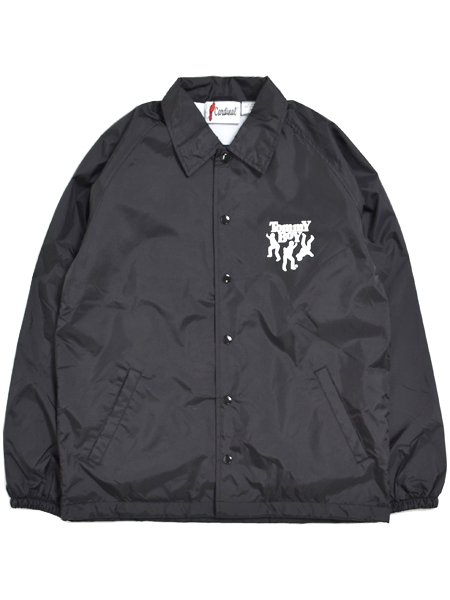 【送料無料】RAP TEES TOMMY BOY COACH JACKET【RT-TB005-BK-BLACK】