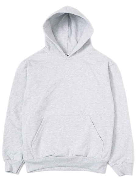 【送料無料】LOS ANGELES APPAREL 14oz HEAVY FLEECE HOODED PULLOVER-ASH【HF09-ASH-GREY】