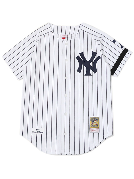 【送料無料】MITCHELL & NESS AUTHENTIC JERSEY-NYY 95 B.WILLIAMS #51【AJY1GS18295-WHITE】