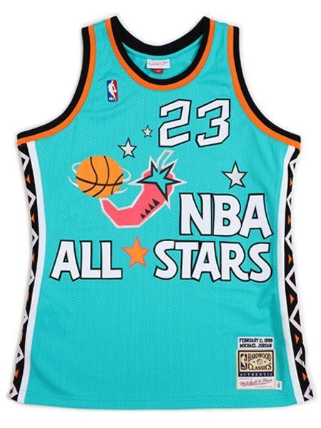 【送料無料】MITCHELL & NESS AUTHENTIC JERSEY ALL-STAR EAST 96 #23 MJ【AJY4GS18066ASET-LIGHT BLUE】