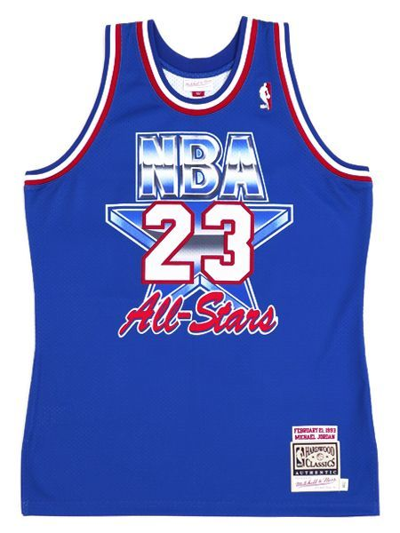 【送料無料】MITCHELL & NESS AUTHENTIC JERSEY ALL-STAR EAST 93 #23 MJ【AJY4EL18009ASER-BLUE】