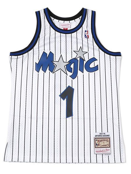 【送料無料】MITCHELL & NESS SWINGMAN JERSEY MAGIC 93 #1 A.HARDAWAY【SMJYAC18096-WHITE】