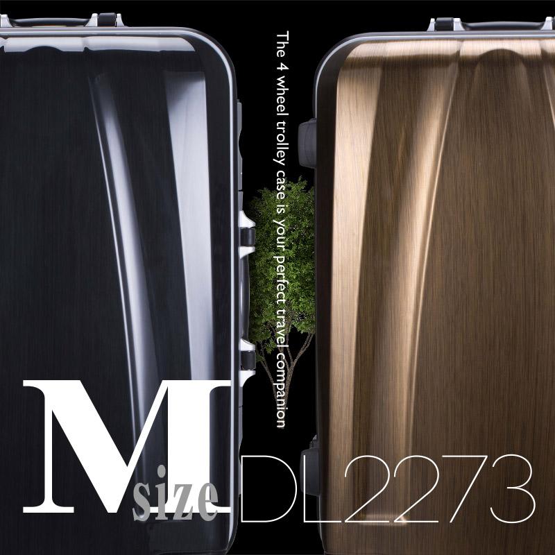 DL-2273 Mサイズ スーツケース キャリーバッグ 旅行かばん キャリーケース トランクケース 送料無料 【送料無料 一年間保証 あす楽対応】