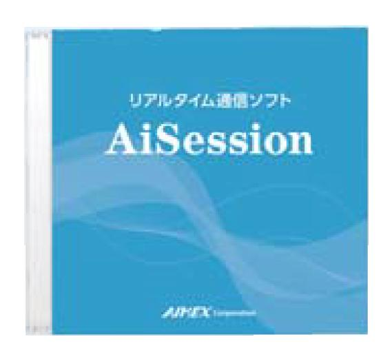 AIMEX アイメックス データコレクタ BW-220シリーズ用 リアルタイム通信ソフト AiSession[型番:BW-220-AW]【smtb-TK】