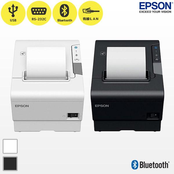 【 EPSON エプソン 】サーマル レシートプリンター TM-T88VI スタンダードモデル Bluetooth対応【Bluetooth・USB・有線・無線LAN】【smtb-TK】
