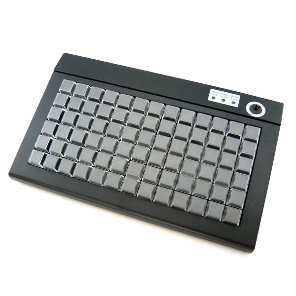【 プログラマブルキーボード 】FKsystem POSプログラマブルキーボード PKB-078U USB接続 ブラック【 あす楽 代引手数料無料 POS エフケイシステム 】【smtb-TK】