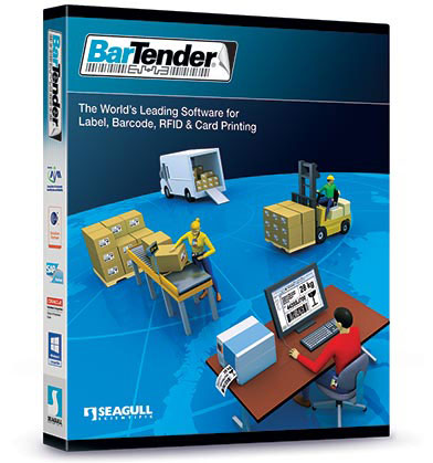 【安心の1年間メンテナンス契約付き】 バーコードラベル作成ソフト BarTender2016 Automation 1年間メンテナンス契約付き /5ライセンス 【 Windows 7/8/8.1/10 対応 】【 バーテンダー オートメーション バーコード作成 ラベルリング ソフト ソフトウェア 】【smtb-TK】