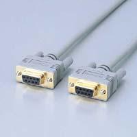 ELECOM エレコム RS-232Cケーブル 訳あり 交換無料 ノーマル C232N-930