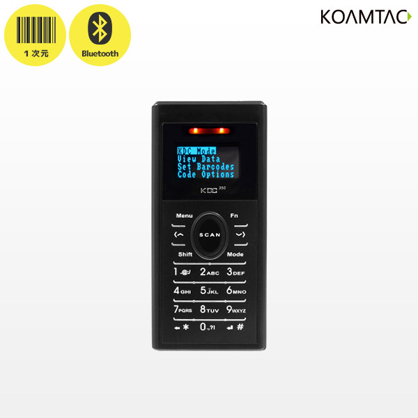 【 バーコードリーダー ワイヤレス 】1次元コード対応 テンキー付き 小型 データコレクター KDC350Li-D-R2 Bluetooth接続 【 iPhone iPad iPodtouch 対応 日本語表示対応 GS1 】【smtb-TK】