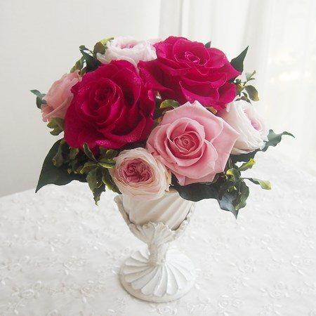リュミエール プリザーブドフラワー ギフト ブリザードフラワー フラワーギフト ブリザーブドフラワー プレゼント 母の日 誕生日 結婚祝い お見舞い 出産祝い 新築祝い ギフト ピンク