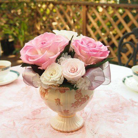 シェリー ピンク プリザーブドフラワー ギフト ブリザードフラワー フラワーギフト ブリザーブドフラワー プレゼント 母の日 誕生日 お礼 新築祝い ギフト