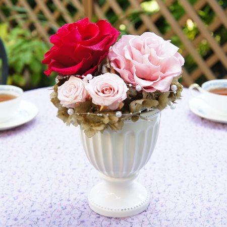 エスプリ ダイヤモンドローズ プリザーブドフラワー ギフト ブリザードフラワー フラワーギフト ブリザーブドフラワー プレゼント 母の日 誕生日 結婚祝い 新築祝い 還暦祝い