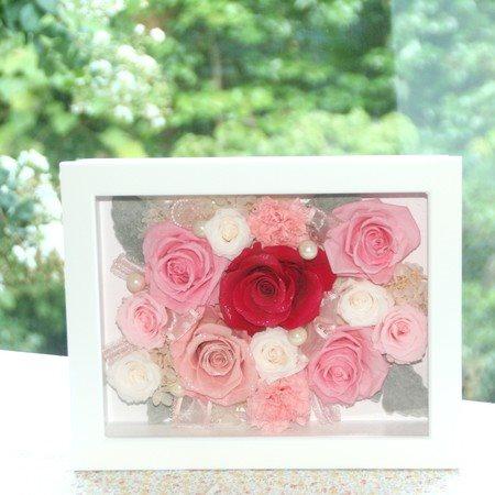 レーヌ ダイヤモンドローズ プリザーブドフラワー ギフト ブリザードフラワー フラワーギフト ブリザーブドフラワー プレゼント 母の日 誕生日 結婚祝い お見舞い 出産祝い 新築祝い ピンク