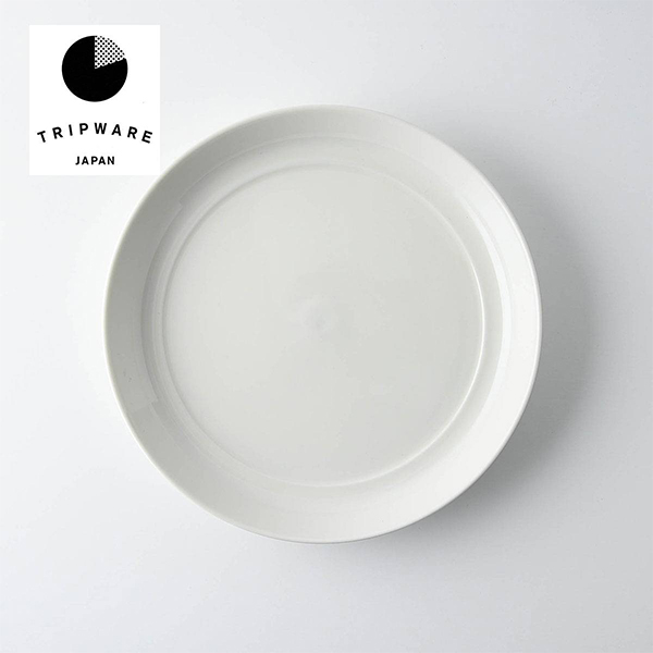 TRIP WARE プレート175 17.6x17.6cm 日本製 美濃焼 洋食器 生活雑貨 キッチン 食器 大皿 中皿 東海焼き 緑釉 TOKAI-YAKI ストア デザイン 日本 器 白 水釉 東海焼 白釉 お皿 在庫処分 現代風アレンジ