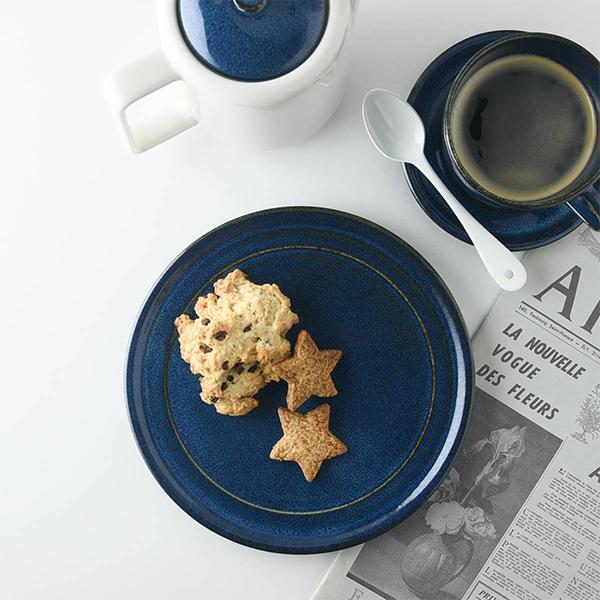 北欧ブルー 深ブルー 19x19cm 中皿 ケーキ皿 日本製 美濃焼 洋食器 生活雑貨 キッチン 即納最大半額 食器 東海焼 皿 新作 お皿 大皿 ブルー TOKAI-YAKI 北欧 東海焼き 現代風アレンジ 器 日本