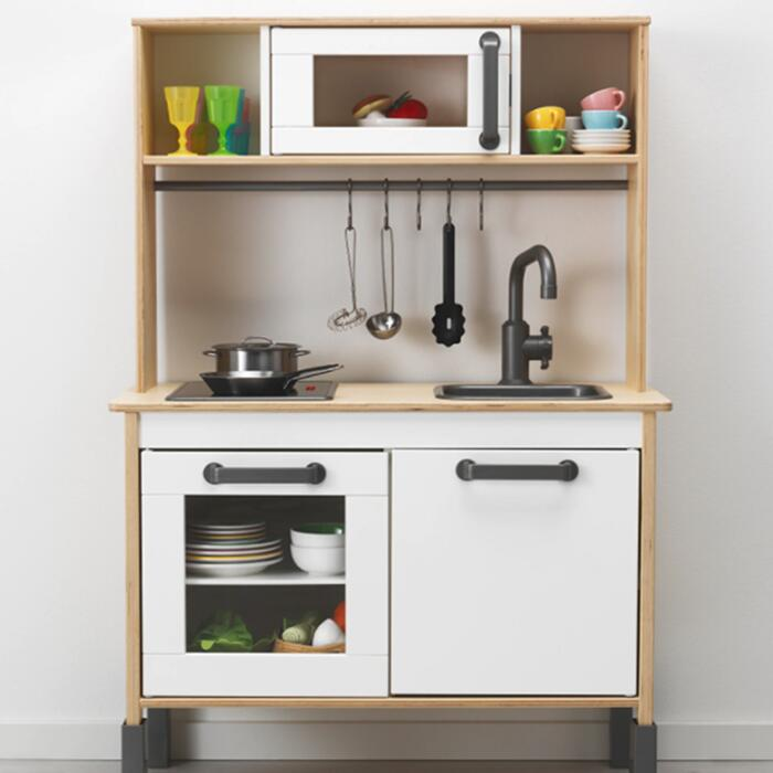 高品質新品 送料無料 IKEA DUKTIG おままごとキッチン イケア ドゥクティグ ミニキッチン おままごと ままごと キッチン 高さ 調整 ロールプレイ 毎日がバーゲンセール 台所 おもちゃ ホワイト 木製 ママ お片付け キッズ 好奇心 お店屋さん コンパクト 知育玩具 バーチ材合板 こども セット