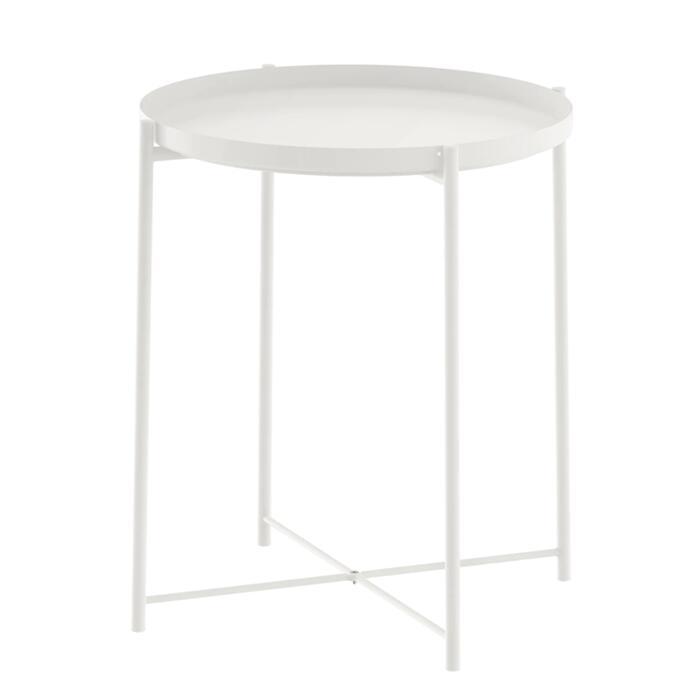 ストアー 送料無料 IKEA イケア ナイトテーブル サイドテーブル GLADOM グラドム ベッドサイドテーブル 45x53 cm 50337820 返品交換不可 おしゃれ トレイ かわいい デスク 机 ベッドルーム 寝室 ガラス ホワイト 北欧