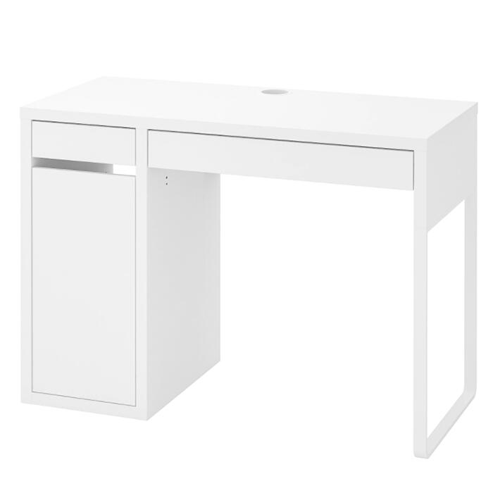 まとめ買い特価 送料無料 IKEA イケア ランキング1位 MICKE ミッケ デスク 子供用 机 《週末限定タイムセール》 おしゃれ 北欧 収納付き ホワイト 木製 キッズ 勉強机 かわいい 学習机 白 シンプル 引き出し付き おすすめ