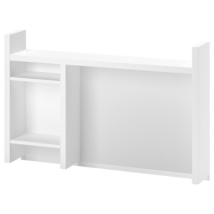 送料無料 ☆正規品新品未使用品 豊富な品 IKEA イケア MICKE ミッケ デスク ホワイト105x65 高 上部パーツ cm 追加ユニット