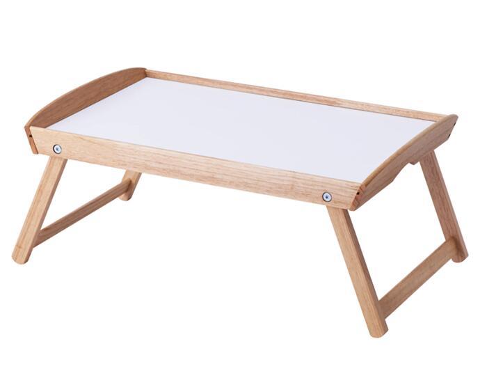 コンパクトにたためるので 卸直営 持ち運びが簡単です 1着でも送料無料 IKEA イケア DJURA ジューラ ゴムノキ 58x38x25 ベッドトレイ cm 送料無料