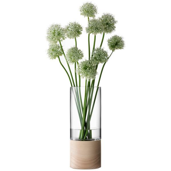 【25%OFF】 LSA InternationalLOTTA[ロッタ] フラワーベース 花瓶 クリアガラス ウッド高さ370mm※メーカーより直接お届けするため、お買上げ合計金額にかかわらず別途送料を設定しております。 花瓶【メーカー直送品のため LSA、代引き・ラッピング・同梱不可】, MUSIC LAB:806c3359 --- supercanaltv.zonalivresh.dominiotemporario.com