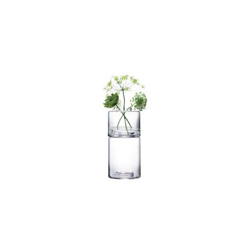 LSA International STACK[スタック] フラワーベース 花瓶 クリア ガラス 高さ36cm※メーカーより直接お届けするため、お買上げ合計金額にかかわらず別途送料を設定しております。 【代引・ラッピング・同梱不可】