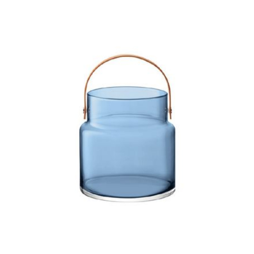 LSA International UTILITY[ユティリティ] フラワーベース 花瓶 サファイアブルーガラス 高さ25.4cm※メーカーより直接お届けするため、お買上げ合計金額にかかわらず別途送料を設定しております。 【代引・ラッピング・同梱不可】