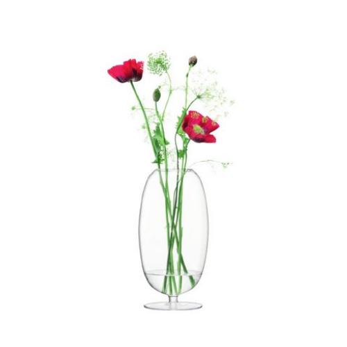 高さ40cm※メーカーより直接お届けするため、お買上げ合計金額にかかわらず別途送料を設定しております。 OLIVIA[オリヴィア] LSA 【メーカー直送品のため、代引き・ラッピング・同梱不可】 クリア フラワーベース International ガラス 花瓶